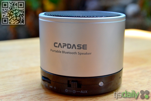 Capdase Beats SOHO Portable Bluetooth Speaker Review Front