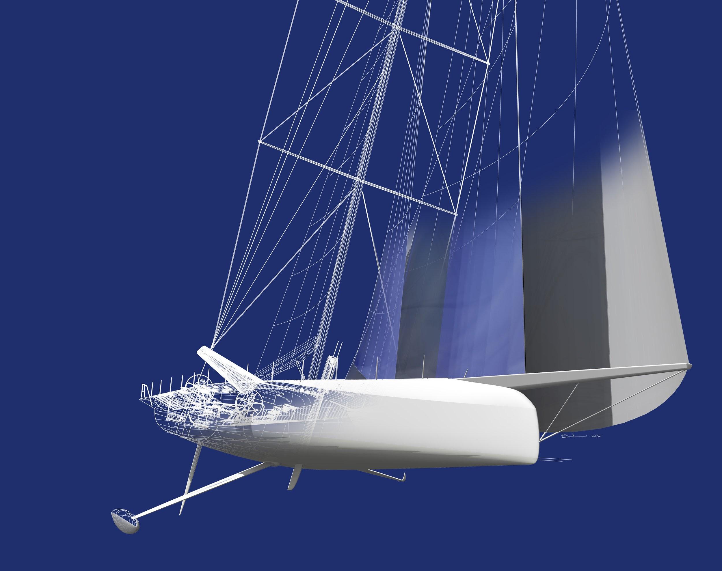 donan raven's sailing trivia cqs (2016) ship cutaway yacht cutaway diagram