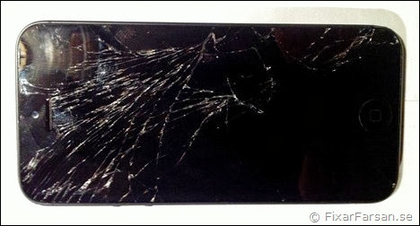 iphone 4 byta glas