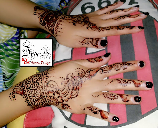 Indah Henna Design Henna Wedding 2014