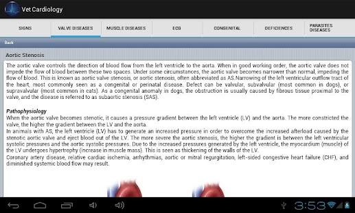 Vet Cardilogy screenshot for Android