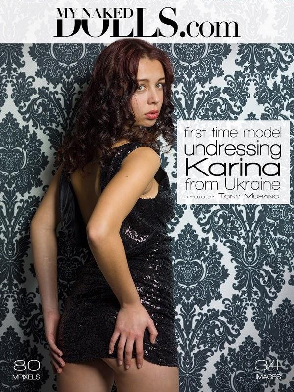 [MyNakedDolls] Karina - Undressing