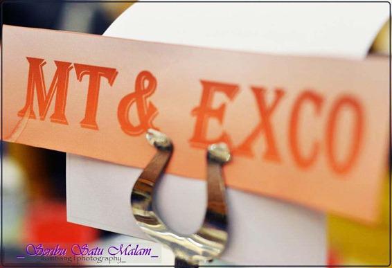 MT & EXCO DINNNER