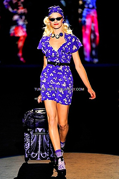 TUMI ANNA SUI SPRING 2012 TRAVEL BAGS NORDSTORM USA & ISETAN JAPAN