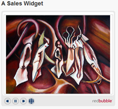rebubble sales widget