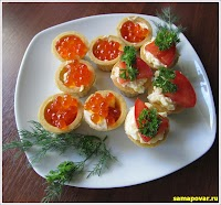 Готовим быструю закуску. www.samapovar.ru