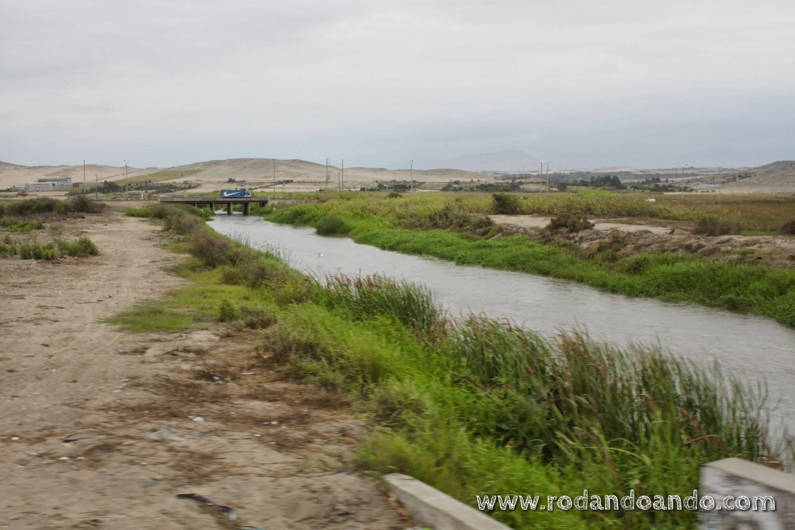 El río que nos regala los verdes paisajes