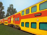 Double Decker Train