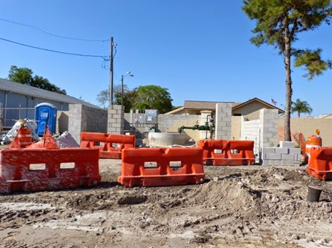 Sewer Project = Sink Holes, Holiday Florida