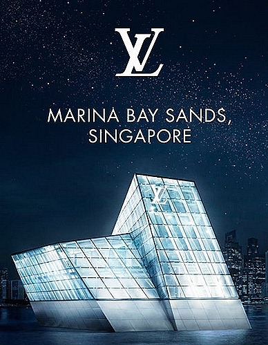Louis Vuitton Island Maison Singapore Official Opening
