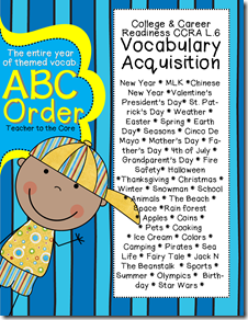 ABC Order with CCSS