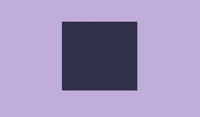 azul índigo e lilás lavanda