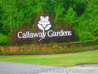 Entrance sign to Callaway Gardens