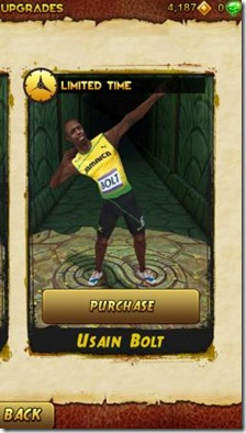 Bolt come personaggio di Temple Run 2