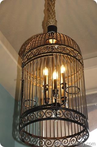 mantle, sign, chandelier 078