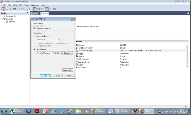 NS2 and UBUNTU Installation on VMWARE ~ Easy Learning