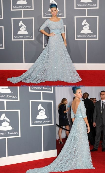Katy Perry 54th Annual GRAMMY Awards Arrivals (3)