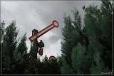 Signal im Garten