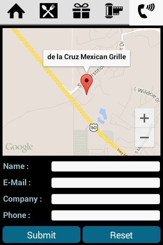 The DeLa Cruz Mexican- screenshot