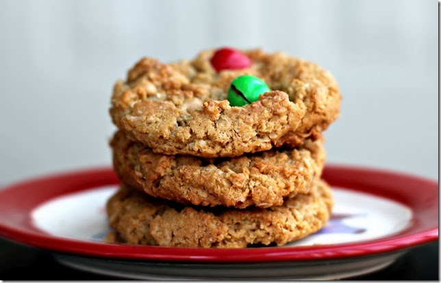 Peanut Butter M&M Monster Cookie4