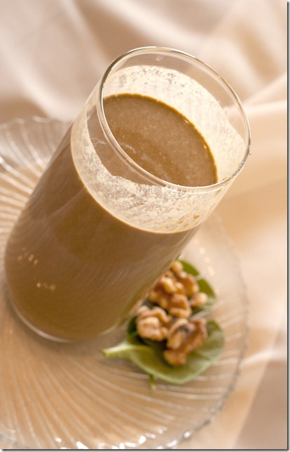 Cantaloupe Corner German Chocolate Green Smoothie