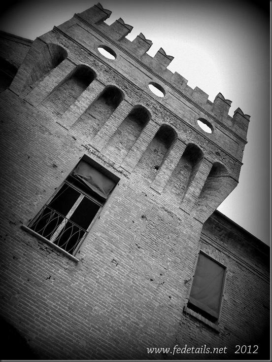 Delizia di Benvignante ( torre ),Ferrara, Emilia Romagna, Italia - Delizia of Benvignante ( Tower ), Ferrara, Emilia Romagna,Italy