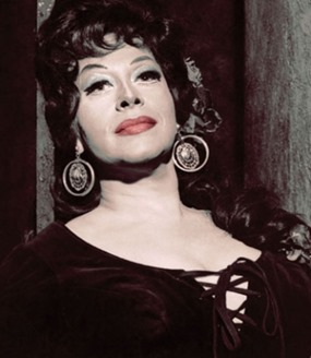 Regina Resnik as Bizet's Carmen [Photo uncredited]