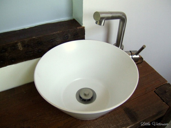 DIY vessel sink