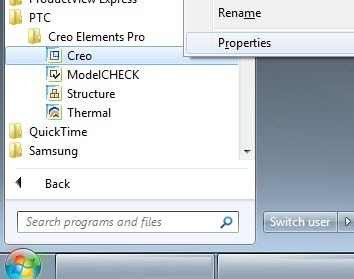 Pro-Engineer-Creo-Right-Click-Properties
