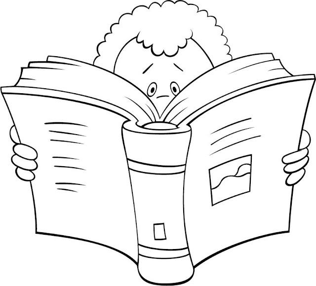 NIÑOS Y LECTURA PARA COLOREAR – Dibujos para colorear