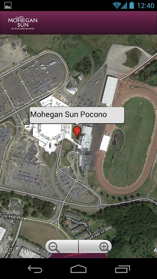 Mohegan Sun at Pocono Downs - screenshot