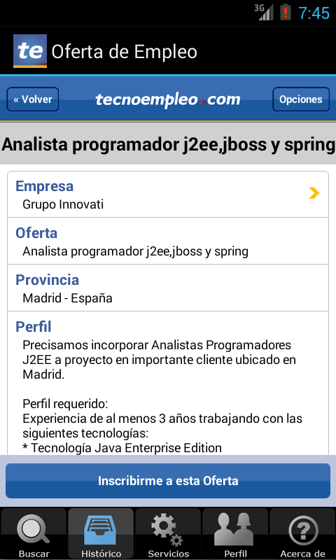 Empleo - Trabajo - screenshot
