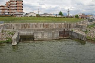 東除洪水吐を望む