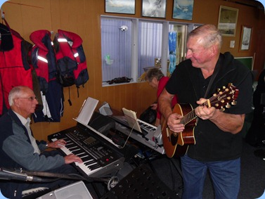 John Perkin on a Korg Pa3X accompanied by Kevin Johnston on guitar.
