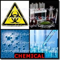 CHEMICAL- 4 Pics 1 Word Answers 3 Letters