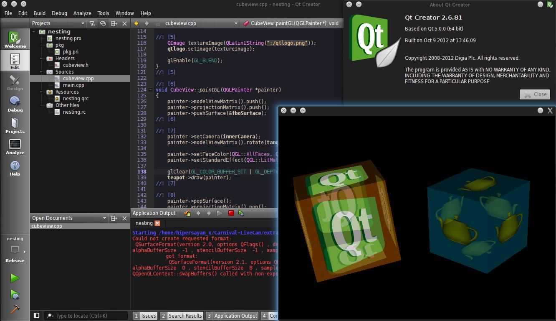 Build Qt Xcb