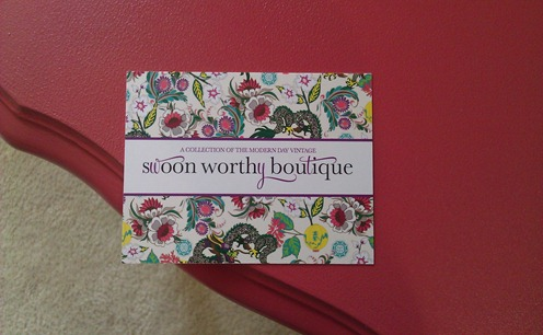 Swoon Worthy Boutique Business Cards