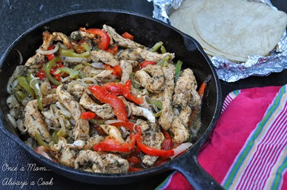 chicken fajitas ready to eat