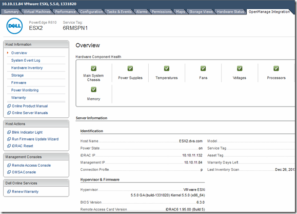Dell PowerEdge Updates for vSphere 5 5 - | Exit | the | Fast | Lane |