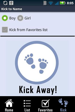 kick to name review for android
