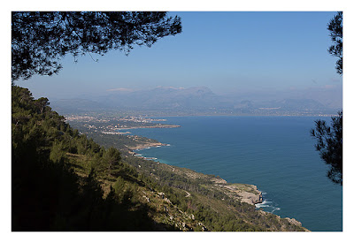 Geocaching auf Mallorca - Blick über die Bucht von Alcudia