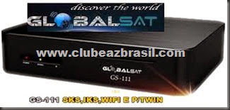 GLOBALSAT GS 111HD  E G111 PLUS