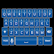 Blue Keyboard Skin 2