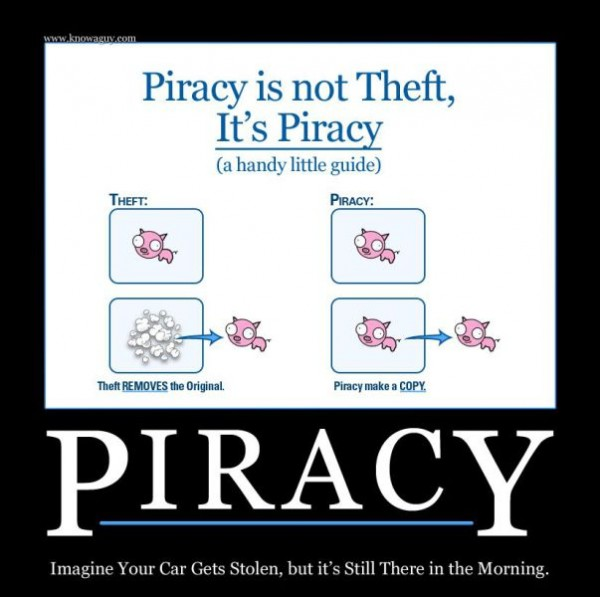 piracy is not theft, piracy makes a copy, duplicate, free open access society