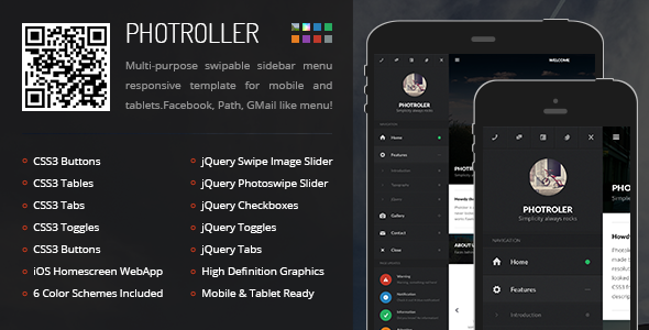 Premium HTML Templates for Mobile Devices