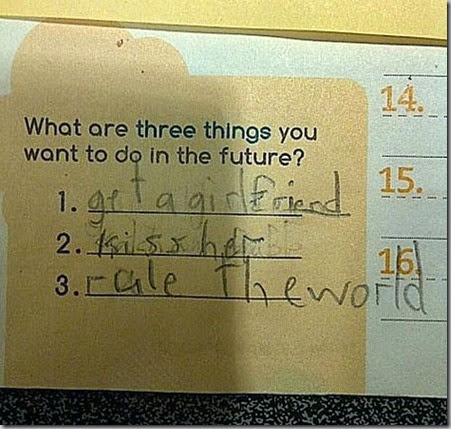 This Kid Is Definitely Going Places