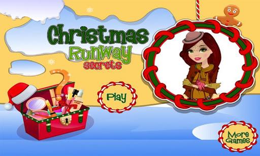 聖誕節時裝表演秘密換裝:給模型艾莉了改造和玩小遊戲