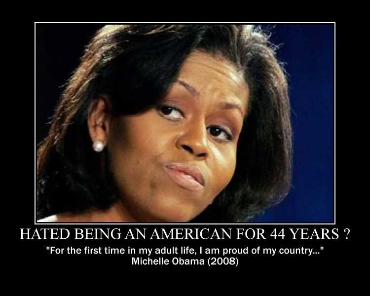 Michelle obama anti-american thesis