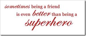 friend superhero
