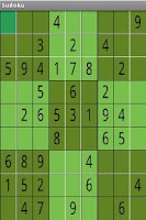 Screenshot of Just Sudoku